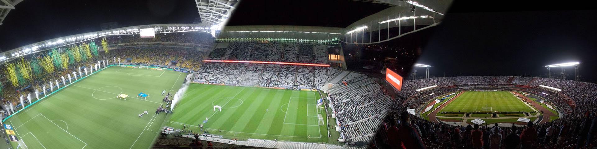 Arenas e Estadios